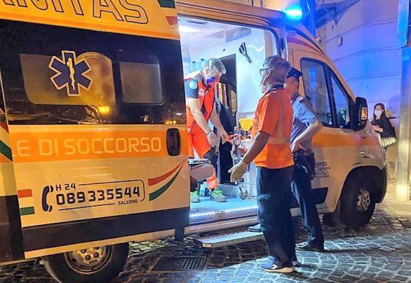 VIDEO – Sabato sera intervento in piazza a Cava de' Tirreni