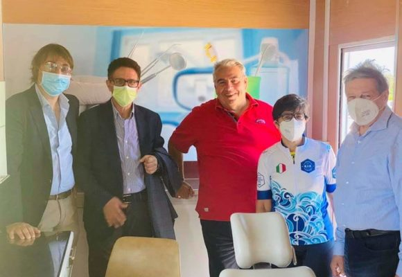 VIDEO – Tamponi Humanitas a 300 medici, odontoiatri e igienisti salernitani