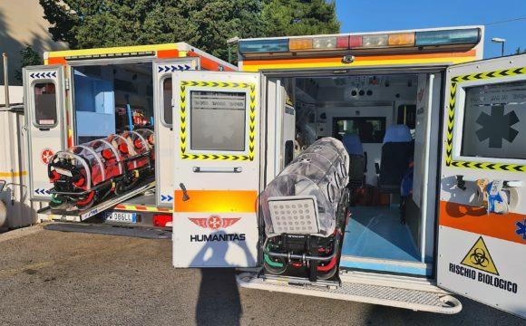 Covid-19, consegnata seconda ambulanza 'alto contenimento'
