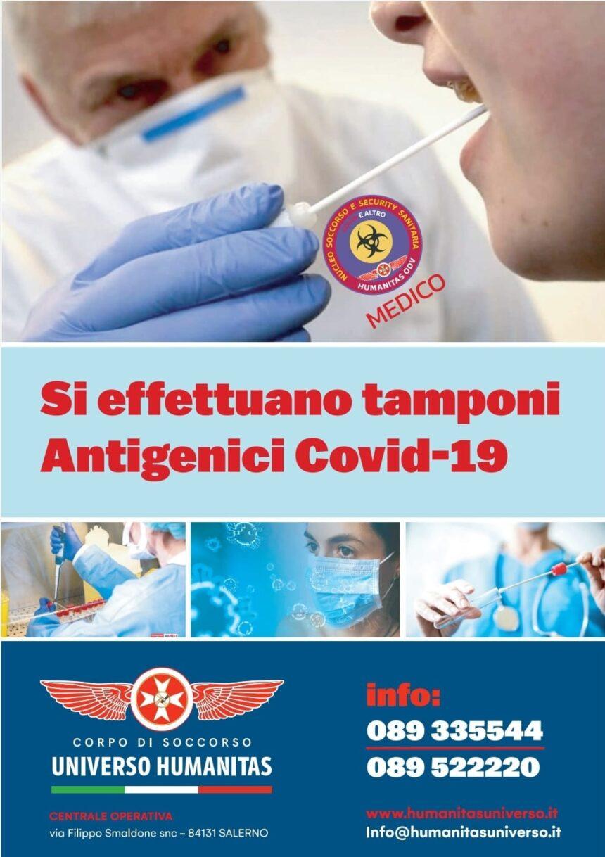 Tamponi Antigenici Covid-19 Salerno